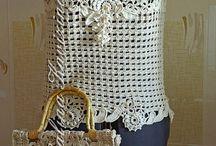 Crochet garments