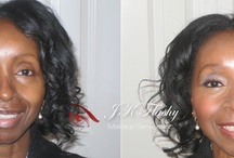 Before & After / This Board is all about our before & after makeup applications!