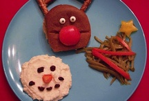 Kinderkerstdiner / Onderdeel adventskalender mizflurry.blogspot.nl