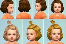 sims 4 hair toddlers maxis match cc