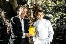 """Sacré """"cuisinier de l'année"""" guide Gault et Millau / Le chef Yannick Alléno, 45 ans, vient d'être sacré """"cuisinier de l'année"""" par l'édition 2015 du guide Gault et Millau, succédant ainsi à Arnaud Lallement. Aux commandes du Pavillon Ledoyen depuis cette année, le lauréat est également à la tête de plusieurs restaurants renommés dont Cheval Blanc à Courchevel, deux brasseries à l'enseigne des """"Terroirs parisiens"""" à Paris, le Royal Mansour à Marrakech et le One & Only Palm à Dubaï."""