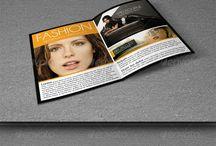 Brochures / My brochure designs.