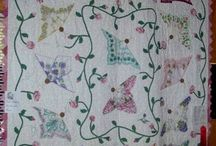 Hanky quiltsBUTTERFLY