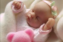 Ooak Polymer Clay Babies