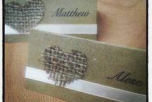 Bryllupsbordkort