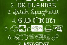 St. Patrick's Day Fonts, Clipart, and Photoshop / Fonts, clipart, and Photoshop ideas for St. Patrick's Day.