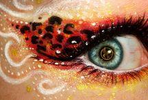 maquillaje de ojos fantasia
