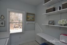 Laundry Rooms / Styling your laundry room.