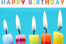 Freebie Birthday List / by Laurie DesAutels