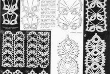 vzory na háčkování a pletení