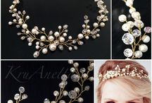 Wedding Pearl Crown