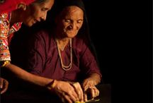 Meet the Artisans / These are the hands create magic..  The hands that have carried the crafts for generations.. For them it's not just a craft..  For these artisans, it is their passion, their way of life..