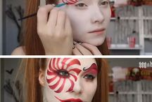 Halloween makeup tutorials