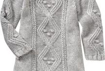 toddler winter knitted clothing