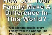 Homeschool Families Changing The World! / Teach them Diligently Conventions will have a strong emphasis on how homeschool families can get involved with meeting the needs of people around the world.  Keep up with our Change The World Sponsors.