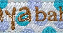 Kids Labels, Childrens Woven Labels / Woven Labels, Clothing Labels for Kids and Children