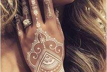Henna designs / Amazing henna of black and white