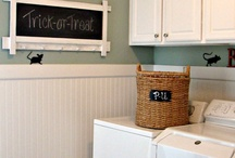 Laundry room ideas / by Emilee Fortner