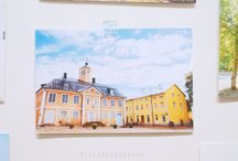 Postcard / Postcard marker