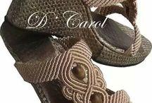 Makrame sandal