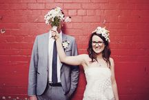 Brides & Grooms in Glasses Inspiration / Brides in glasses!