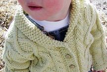 boys knitted cable garments