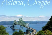 Oregon Coast / Places to go and things to do near Astoria/ Cannon Beach!