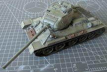 Modellismo - T-34/85 / T-34/85 (Tamiya 35138) - 1/35 scale model - http://vonvikken-modellismo.blogspot.it/search/label/T-34%2F85