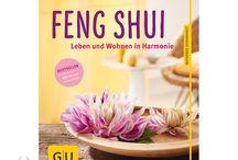 Bücher / Ratgeber für Wohnen mit Feng Shui und Farben, Gesunder Schlaf und zum Thema Loslassen, Lebensweisheiten, veganes Kochen