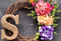 Wreaths  / Wreaths and decorative ideas / by Sheryl Dartez