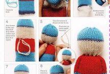 petits sujets tricot