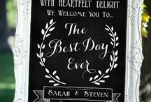 Chalkboards and Signs