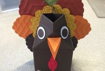 MY STAMPIN UP THANKSGIVING MILK CARTONS / MY STAMPIN UP THANKSGIVING MILK CARTONS / by Barbara Charles