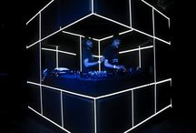 dj booth projection