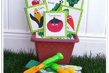 growing vegetable soup ~ HSS preschool garden theme