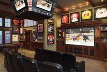 NHL Hockey Man Cave Decor