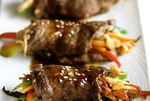 Recipes - Beef, pork...