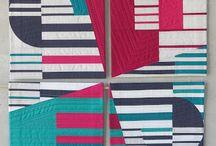 Inspirational Quilts - Modern / Quilt designs with a modern twist - fabrics, asymmetry, new blocks
