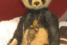 Teddy panda