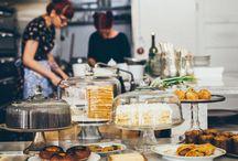 Bakery, Coffees & Restaurants