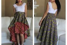 High Low Skirt For Batik