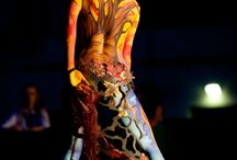 My Body Painting / Body art, skin art, bodypainting, special makeup, makeup, colors, headpieces.