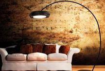 LAMPADE DA TERRA / Idee e proposte per l'illuminazione e la decorazione della vostra casa con originali lampade da terra. Lampade stile moderno, lampade stile industriale, lampade stile contemporaneo, lampade con illuminazione a Led, ecc.