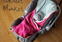 Car seat blanket / by Kate Towse