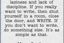Writing...my passion