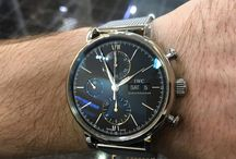 IWC Portofino Chronograph Automatic / IWC Portofino Chronograph Automatic steel black dial