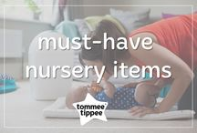 must-have nursery items / Expecting a baby? We know the urge to compile a huge list is growing. Let us help you out with our handy must-have nursery items board. Make sure you follow us for updates on new products and innovations! www.tommeetippee.com
