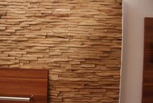 Interior Design - Wooden Walls / Wooden walls as wall design. Different solutions with reclaimed and reused wood pieces. Wood panels for Do it yourself projects