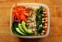 Food -Grab and Go meals / When you're going out, you don't always have to buy food. Make your own meals so you know exactly what you're eating! Pre-plan and pack for quick grab and go meals.