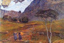 Paintings.Segantini